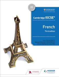 Cambridge IGCSE™ French Student Book Third Edition Copertina del libro