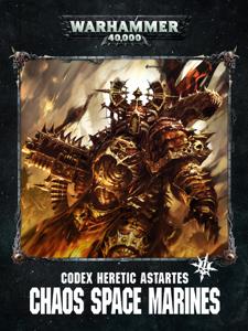 Codex: Chaos Space Marines Enhanced Edition La couverture du livre martien