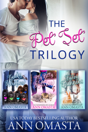 The Pet Set Trilogy: 3 heartwarming small-town romances, plus pets!