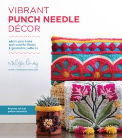 Vibrant Punch Needle Décor