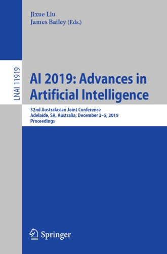 Jixue Liu & James Bailey - AI 2019: Advances in Artificial Intelligence