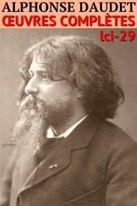 Alphonse Daudet La couverture du livre martien