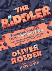 The Riddler: Fantastic Puzzles from FiveThirtyEight Boekomslag