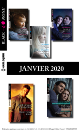Pack mensuel Black Rose : 10 romans (Janvier 2020)