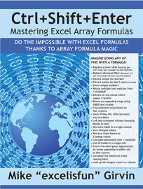 Ctrl+Shift+Enter Mastering Excel Array Formulas