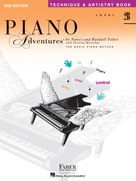 Piano Adventures : Level 2B - Technique & Artistry Book