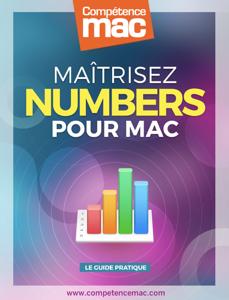 Maîtrisez Numbers sur Mac La couverture du livre martien