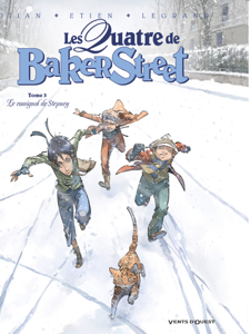 Les Quatre de Baker Street - Tome 03 La couverture du livre martien