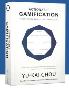Actionable Gamification Copertina del libro