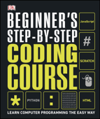 Beginner's Step-by-Step Coding Course Book Cover