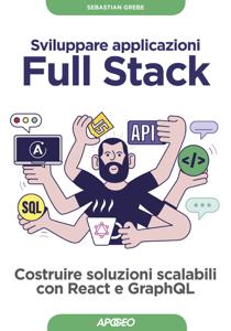 Sviluppare applicazioni Full Stack Copertina del libro