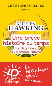Une brève histoire du temps. Du Big Bang aux trous noirs Couverture de livre