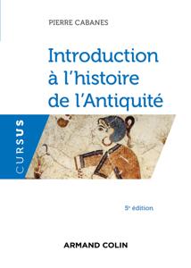 Introduction à l'histoire de l'Antiquité - 5e éd. La couverture du livre martien