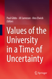 Download Values of the University in a Time of Uncertainty