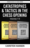 Catastrophes & Tactics in the Chess Opening - Boxset 3 Book Cover