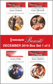 Harlequin Presents - December 2019 - Box Set 1 of 2