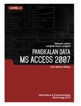 Pangkalan Data (Microsoft Access 2007) Level 2