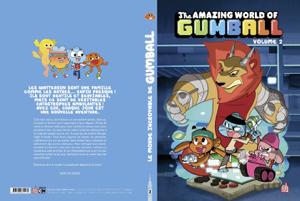 Le Monde incroyable de Gumball tome 2 La couverture du livre martien