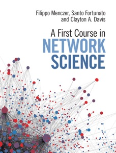 A First Course in Network Science Book Cover