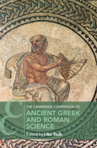 The Cambridge Companion to Ancient Greek and Roman Science Libro Cover