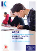 ACCA - Advanced Taxation (ATX - UK) (FA19)