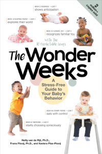 The Wonder Weeks: A Stress-Free Guide to Your Baby's Behavior (6th Edition) Copertina del libro