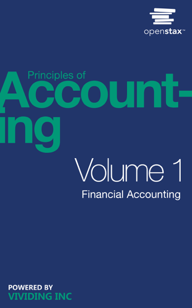 Principles Of Accounting, Volume 1