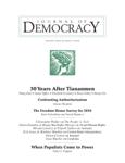 30 Years After Tiananmen: Memory in the Era of Xi Jinping
