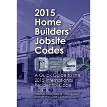 2015 Home Builders' Jobsite Codes