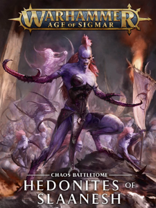 Battletome: Hedonites Of Slaanesh La couverture du livre martien