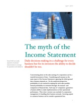 The Myth Of The Financial Statement
