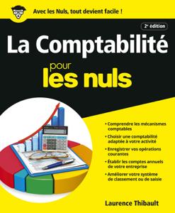 Comptabilité Pour les Nuls, 2e édition La couverture du livre martien