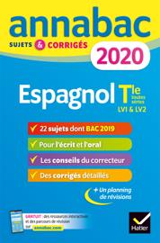 Annales Annabac 2020 Espagnol Tle LV1 et LV2