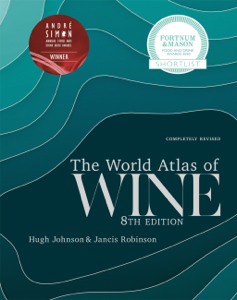 World Atlas of Wine 8th Edition Copertina del libro