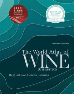 World Atlas of Wine 8th Edition Copertina del libro