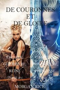 De Couronnes et de Gloire: Esclave, Guerrière, Reine et Canaille, Prisonnière, Princesse  (Tomes 1 et 2) Couverture de livre