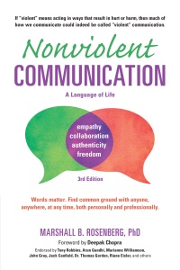 Nonviolent Communication: A Language of Life Book Cover