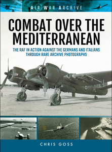 Combat Over the Mediterranean Copertina del libro