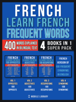 Mobile Library - French - Learn French  - Frequent Words (4 Books in 1 Super Pack) artwork