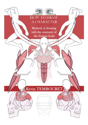 How to Draw a Character - Method of Drawing with the Anatomy of the Human Body