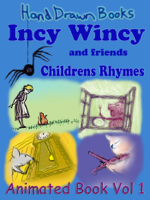 Hand Drawn Books - Incy Wincy and Friends artwork