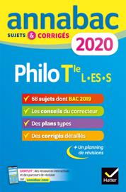 Annales Annabac 2020 Philosophie Tle L, ES, S