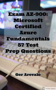 Exam AZ-900 Microsoft Certified Azure Fundamentals 42 Digital Flash Cards Boekomslag