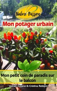 Mon potager urbain La couverture du livre martien