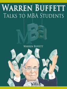 Warren Buffett Talks to MBA Students Libro Cover