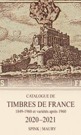 Catalogue de Timbres de France 2020-2021