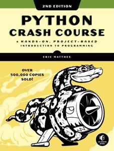 Python Crash Course, 2nd Edition Book Cover