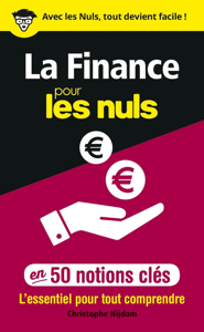 La Finance pour les Nuls en 50 notions clés La couverture du livre martien
