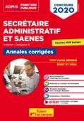 Concours SA et SAENES - Annales corrigées - Catégorie B - Admis