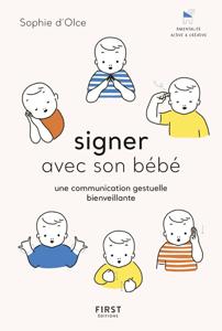 Signer avec son bébé - une communication gestuelle bienveillante La couverture du livre martien